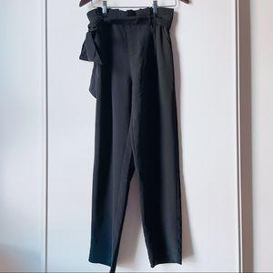 The Clothing Company black paper bag pants